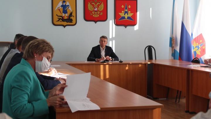 Глава Котласа обратится в оперштаб с предложением ввести обязательный масочный режим на юге области