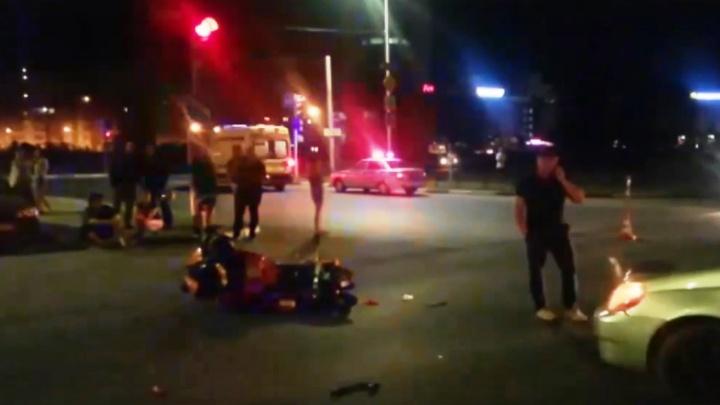 На Конева мотоциклист разбился насмерть после столкновения с «Тойотой»