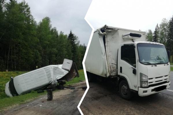 В ДТП под Ярославлем пострадал молодой водитель