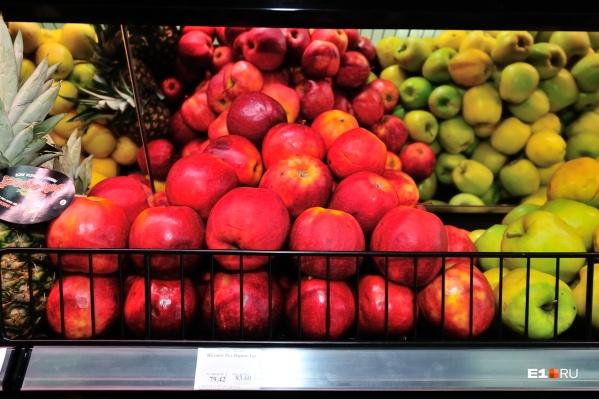 Урожай яблок в этом году выдался особенно богатый