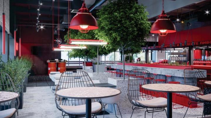 В Академгородке открывают новое кафе — его создатели заявили, что это они наносили на асфальт красных кроликов