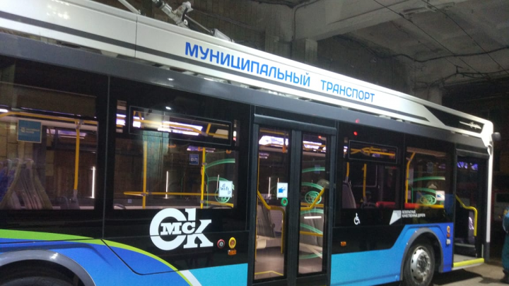 Мэрия Омска рассказала, на какие маршруты выйдут новые троллейбусы