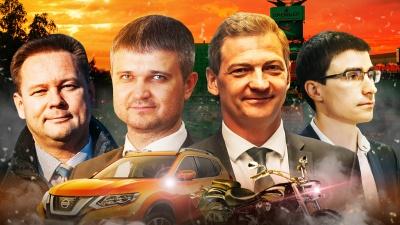 Продали часть иномарок: сравниваем, как за год изменились ВИП-гаражи руководителей управ в Тюмени
