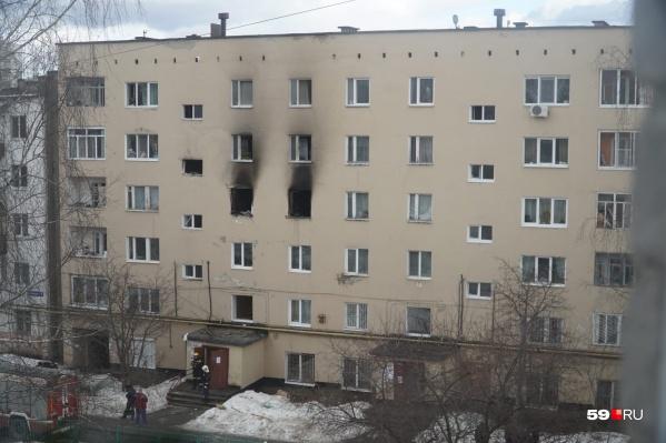 Взрыв произошел в доме на Чернышевского, 3