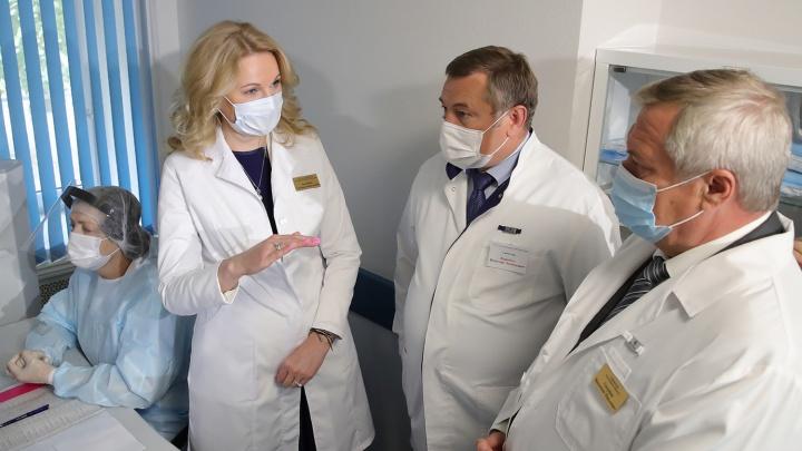 Областная больница назвала фейком заявление депутата Оськиной о массовой гибели пациентов в Ростове
