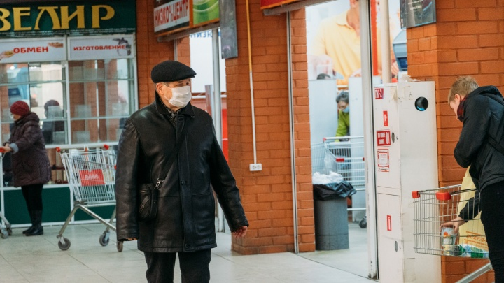 Перед введением масочного режима в Омске средства защиты подорожали на 9 рублей