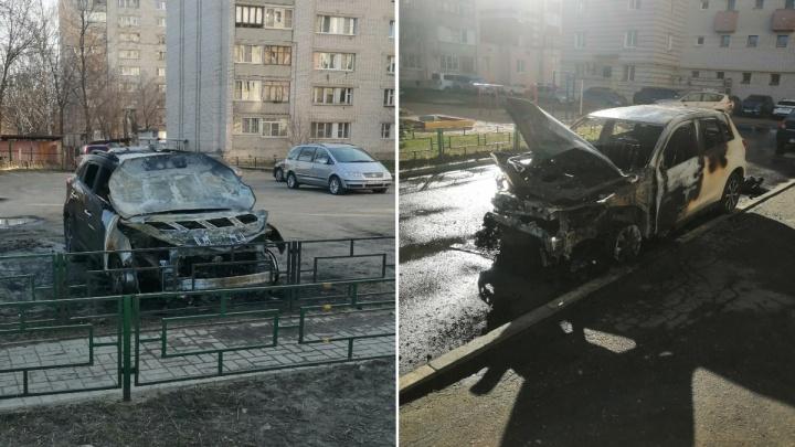 В Канавинском районе задержали пиромана, который за ночь спалил 6 машин
