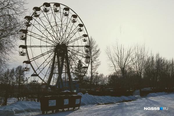 По условиям контракта, высота нового колеса обозрения — не менее 50 метров