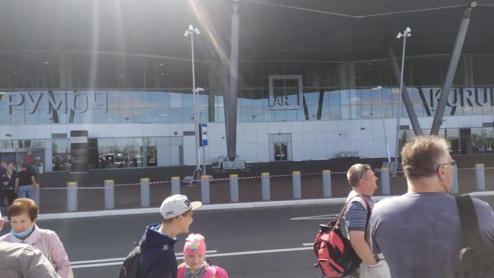 В Самаре эвакуировали аэропорт из-за угрозы взрыва