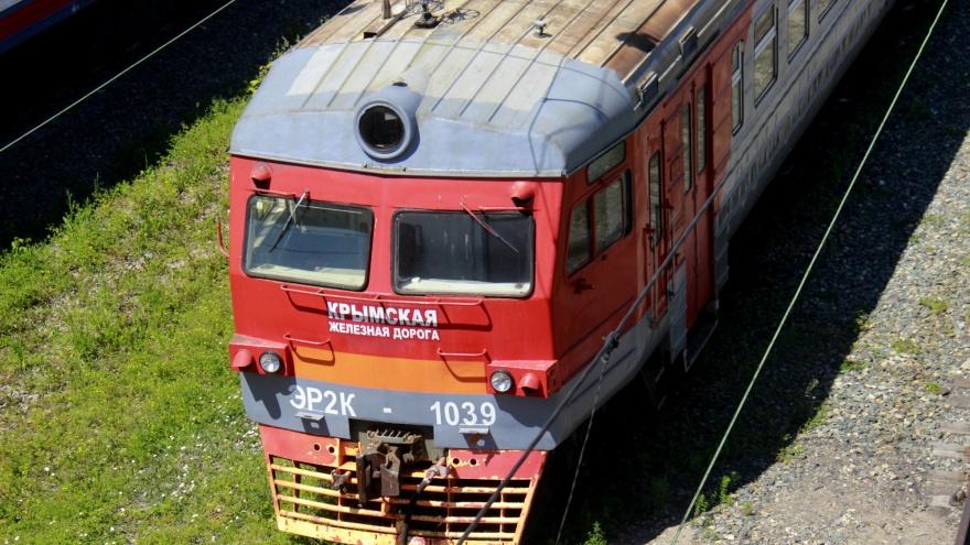 В Новосибирск прибыла электричка из Крыма — мы узнали зачем