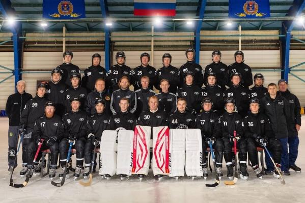 Команда должна была с 11 сентября участвовать в первом этапе Кубка России