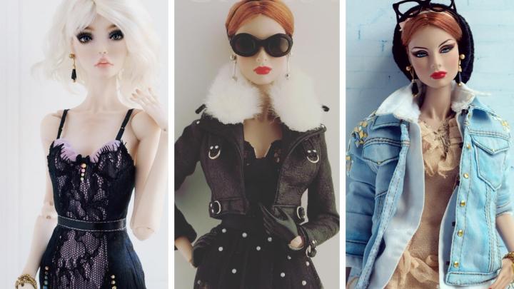 Мода на ладони: омичка организовала бизнес по продаже одежды для кукол