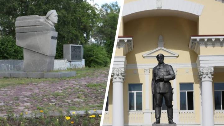 Памятники Роману Куликову и Павлину Виноградову собираются отреставрировать в Архангельске