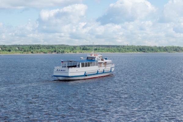 Рейсы по Каме от Перми до Усть-Качки организуют по субботам и воскресеньям