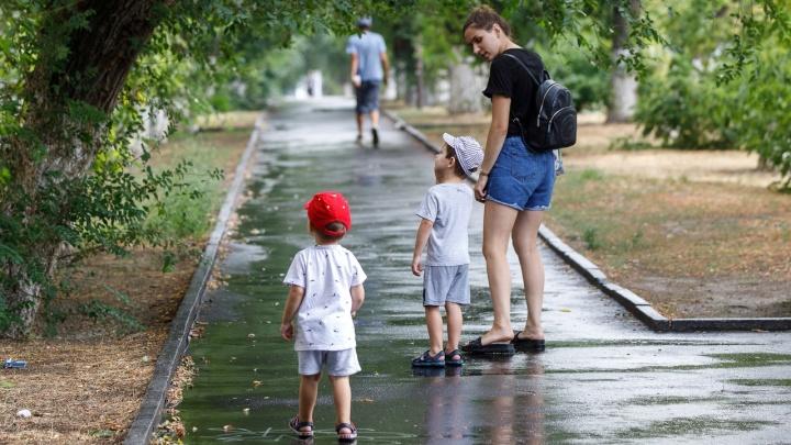 Дожди и похолодание: смотрим прогноз погоды в Волгограде до конца недели