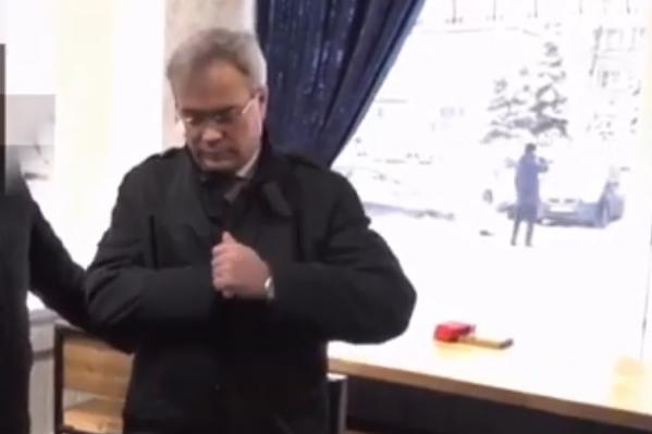 Сергея Родионова задержали при получении денег в ноябре 2019 года