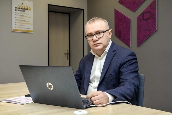 Директор нижегородского отделения «Билайн» Рудольф Бауман