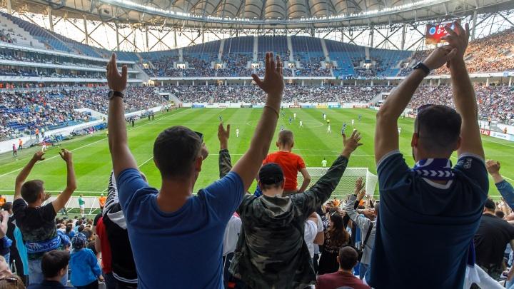Болельщиков волгоградского «Ротора» не пустят на стадион без масок и перчаток