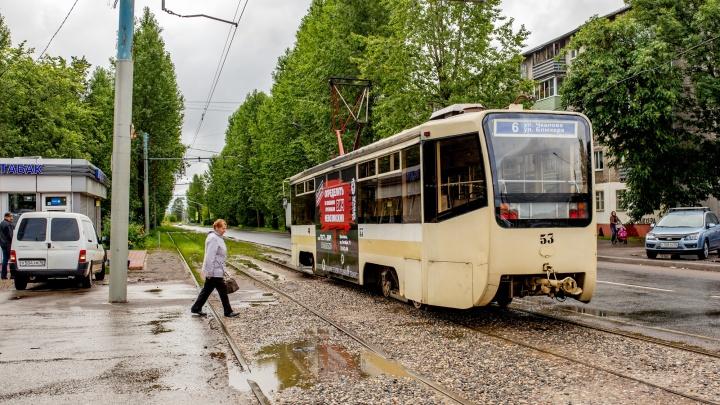 В Брагино продлят трамвайные пути