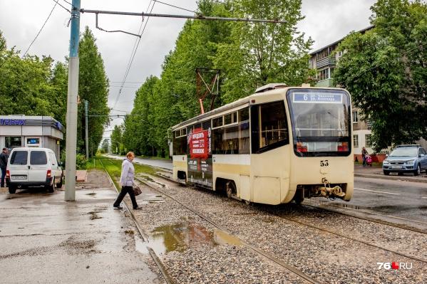 В Брагино собираются продлить трамвайные пути