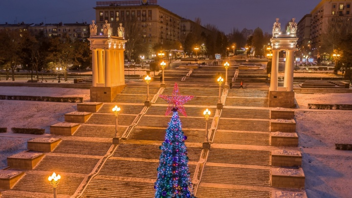 Волгограду пообещали сказку: смотрим погоду в новогоднюю ночь и первую неделю нового года