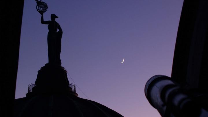 Волгоградцев зовут посмотреть на «великое соединение» Юпитера и Сатурна