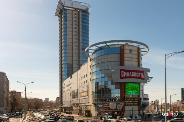 Это здание является одним из самых высоких в Самаре