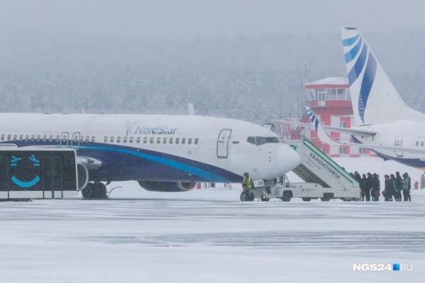Аэропорт работает в штатном режиме, есть небольшие задержки рейсов