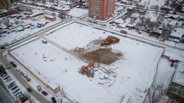У метро «Октябрьская» разрешили построить 106-метровую высотку: там будет 152 квартиры и два пентхауса