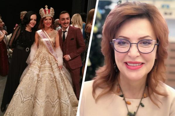 Надежда Хачатрян — победительница конкурса красоты среди женщин элегантного возраста