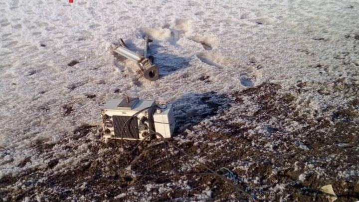 В Самарской области автомобилист получил трое суток ареста за наезд на треногу