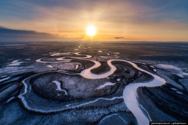 Изгибы реки Иритки