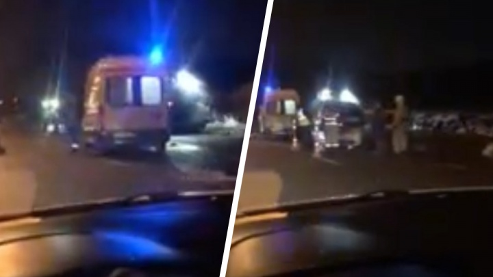 Машина несколько раз перевернулась: авария на Ямской