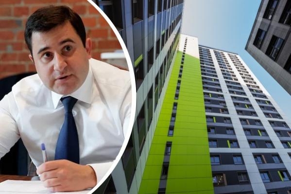 Никита Стасишин заявил, что построенные апартаменты станут обычным жильем, а строить новые в России запретят