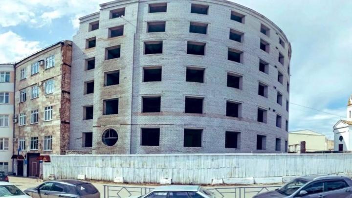 В Самаре хотят достроить здание УФСИН, которое начали возводить на месте сгоревшего ГУВД