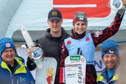 Красноярский сноубордист обошел всех на Кубке Европы в Австрии