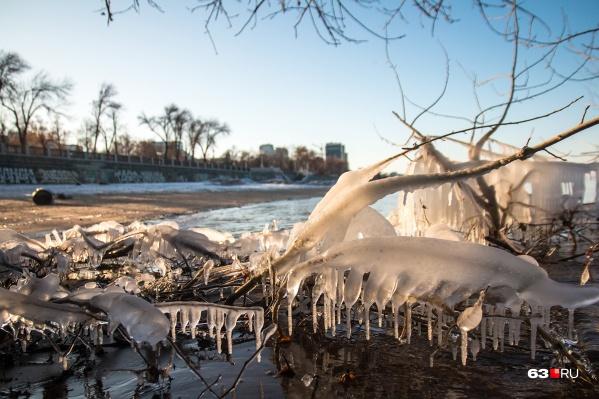 С такой температурой скоро всё покроется льдом