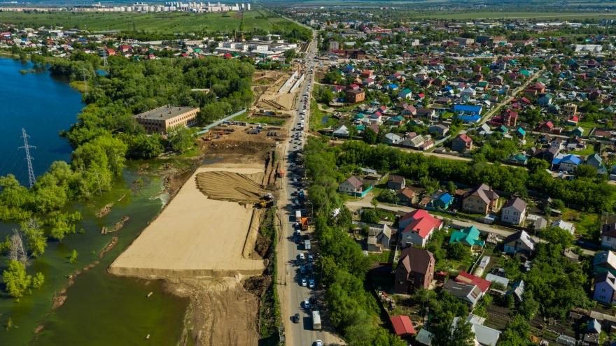 В Самаре построят дорогу, которая соединит Фрунзенский мост с Волгарем