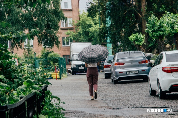 Уходя из дома, не забудьте зонтик