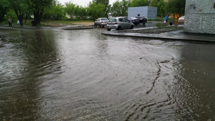 Дожди в Кургане задержатся до конца недели