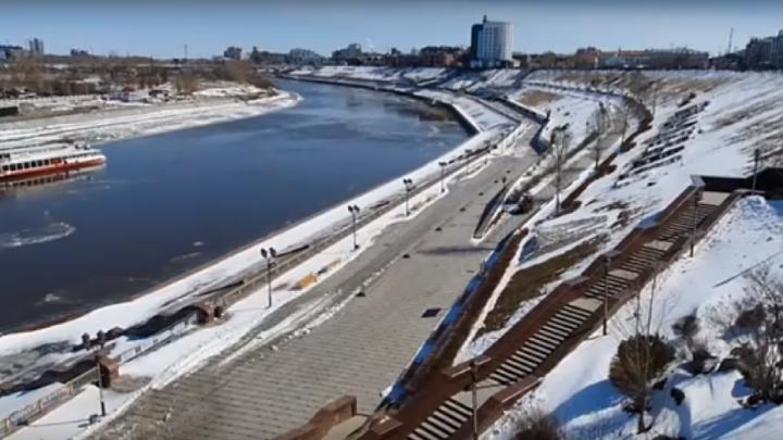 Чиновники не могут найти подрядчика для разработки проекта нового пешеходного моста в Тюмени