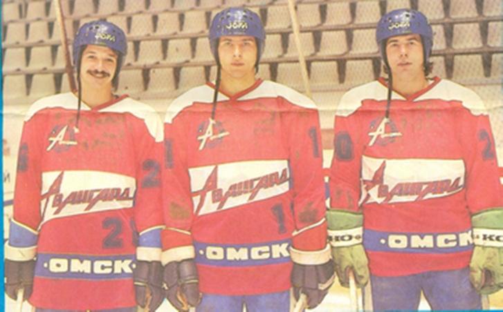 Первая тройка «Авангарда»-1988