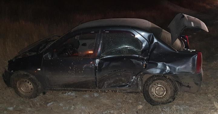 Волгоградец выжил в двойной аварии с фурой и кроссовером