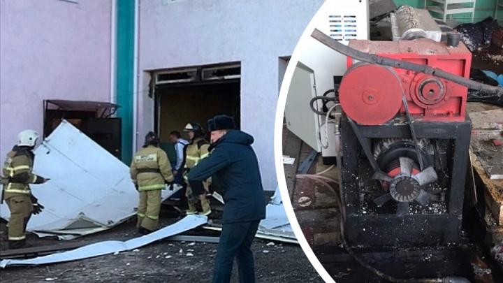 В Володарске произошел взрыв в здании бывшей автомойки