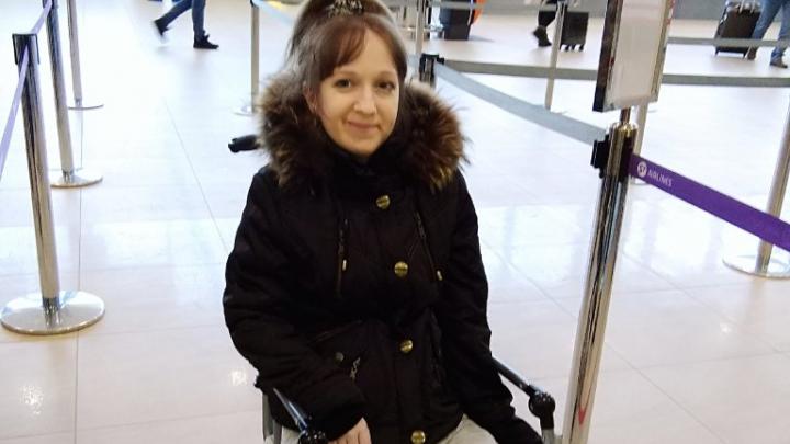 Волгоградка с экстремально низким весом улетела в Москву на новый курс восстановления