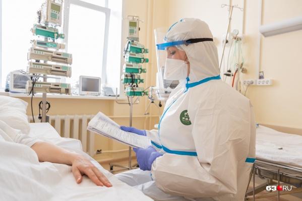 Сложных пациентов госпитализируют в ковидные стационары