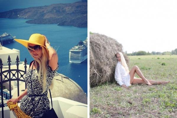 Первый снимок сделан в 2013 году в Греции, второй — 7 лет спустя. За это время Елена встретила будущего мужа, родила второго сына, нашла любимое дело и вновь отправилась в декрет<br>
