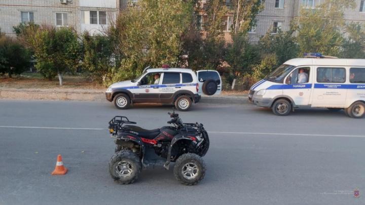 «Отказалась проходить освидетельствование»: под Волгоградом молодая женщина устроила аварию на квадроцикле