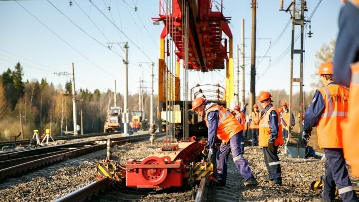 В апреле на Северной железной дороге отремонтировали 73,5 километра пути