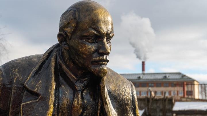 В Краснокамске открыли памятник Ленину (нельзя сказать, что он новый, его привезли из Кунгура)